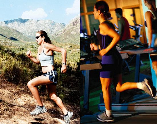 Ποια είναι η διαφορά μεταξύ τρέξιμο σε διάδρομο και τρέξιμο στη φύση;