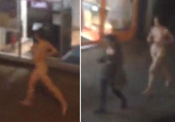 Γυναίκα κάνει γυμνή τζόκινγκ στους δρόμους του Λονδίνου